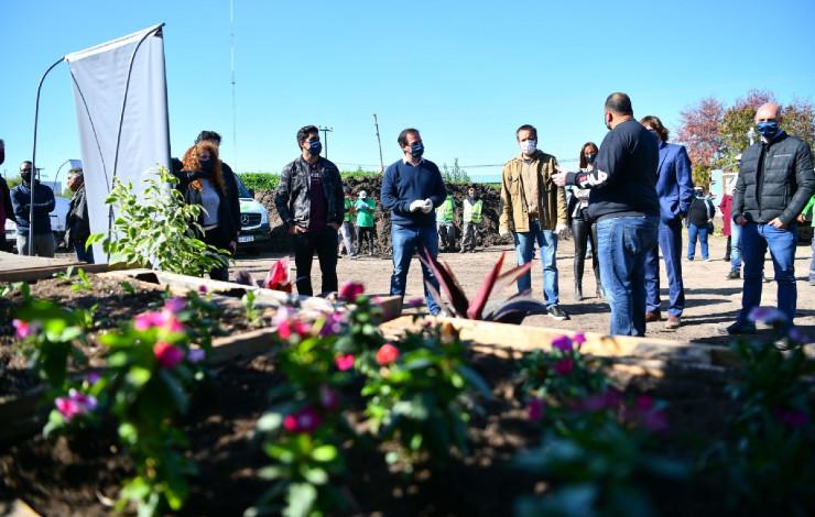 Nueva planta de compostaje municipal de Escobar