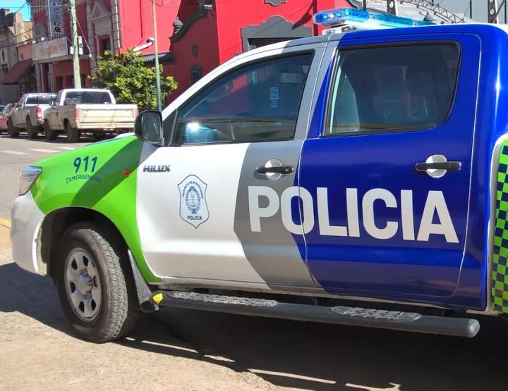 Patrullero Policía bonaerense