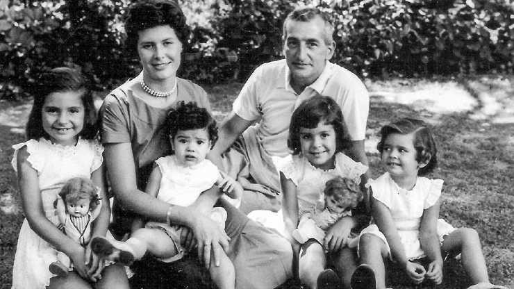 Oesterheld y familia