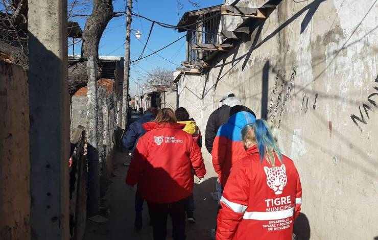 Barrio San Jorge anticuerpos covid-19