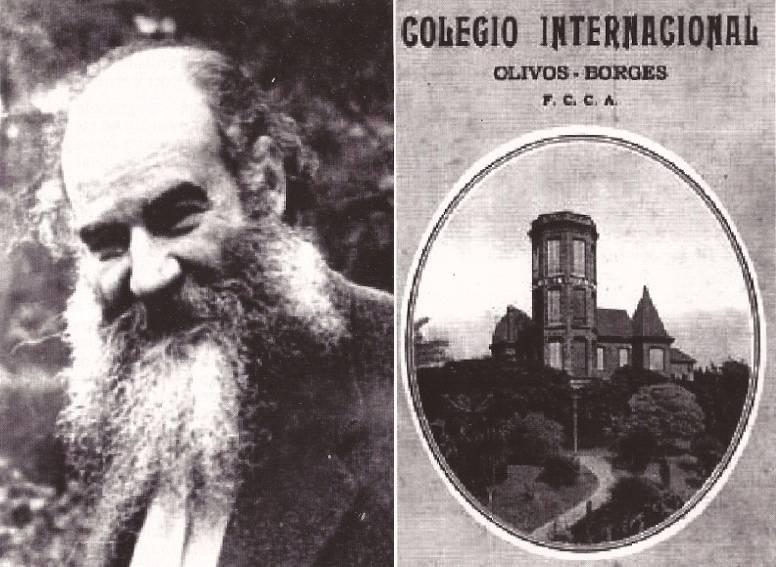 Colegio Internacional Director y folleto