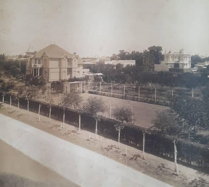Una foto poco conocida del Colegio Internacional