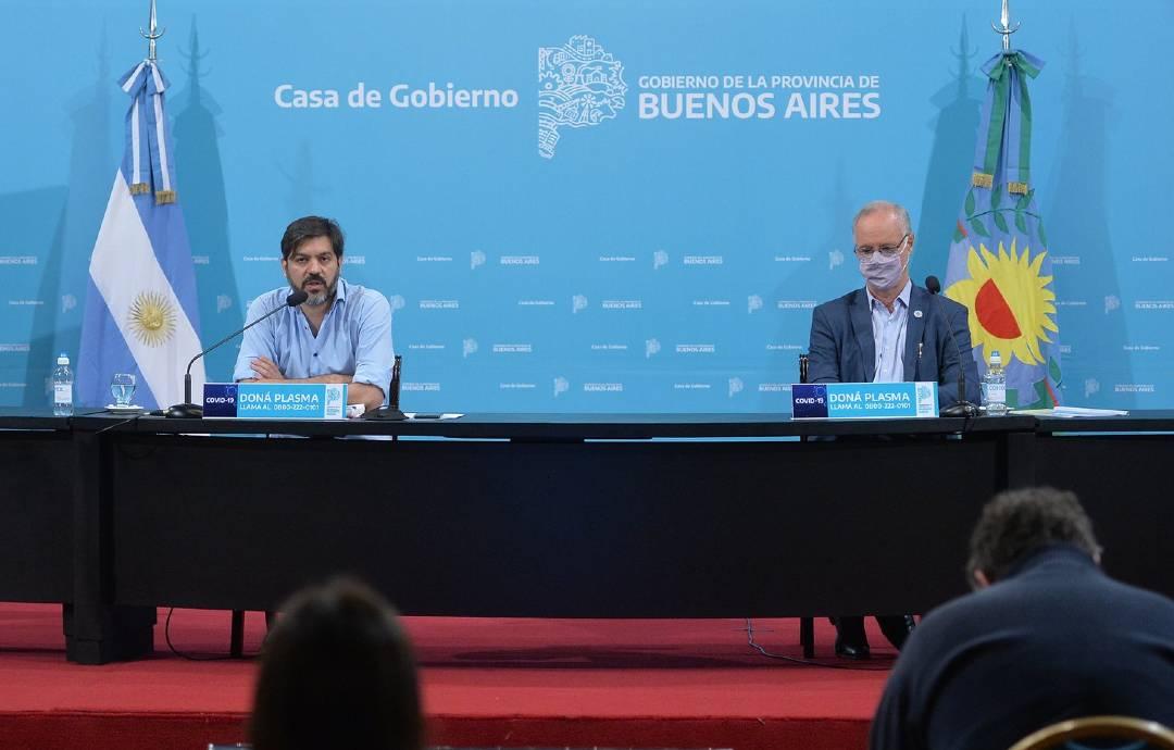 Carlos Bianco y Daniel Gollan