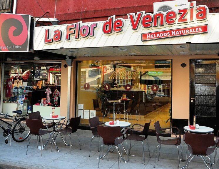 Heladería La Flor de Venezia helado artesanal
