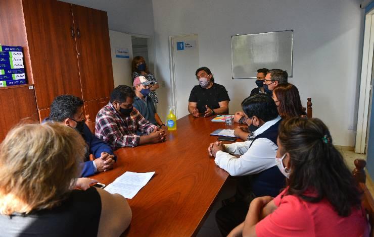 Escobar convenio Colectividad Boliviana repavimentación