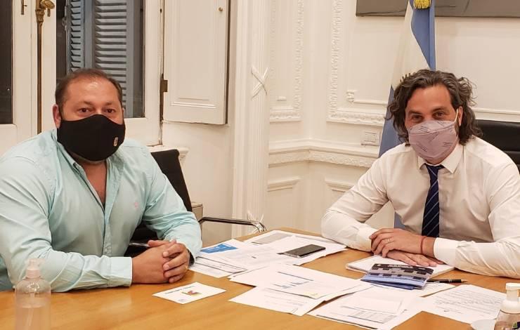 Juanjo Castro y Santiago Cafiero