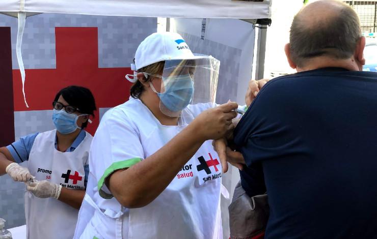 San Martín vacunación