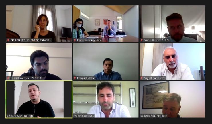tigre-municipios-que-exportan-reunion-videoconferencia-embajada-cancilleria
